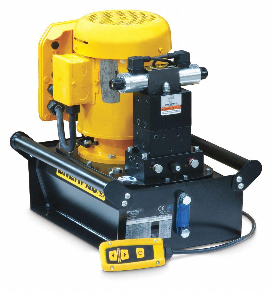 Enerpac Electric Hydraulic Pump With Remote 4 Way 3