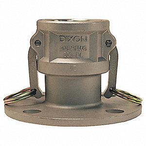 Stainless Steel Flange Coupler, Coupling Type DL, Female Coupler x 150 lb. Flange Connection Type