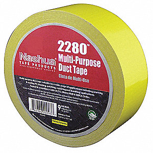 Duct Tape,48mm x 55m,9 mil,Yellow