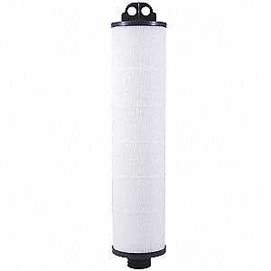 Pleated Filter Cartridge, 5 Microns, Polypropylene Filter Media, 150 gpm Flow Rate