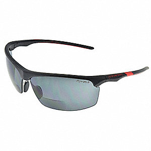 eyedefend bifocal safety read glasses 1 25 gray 28ac79