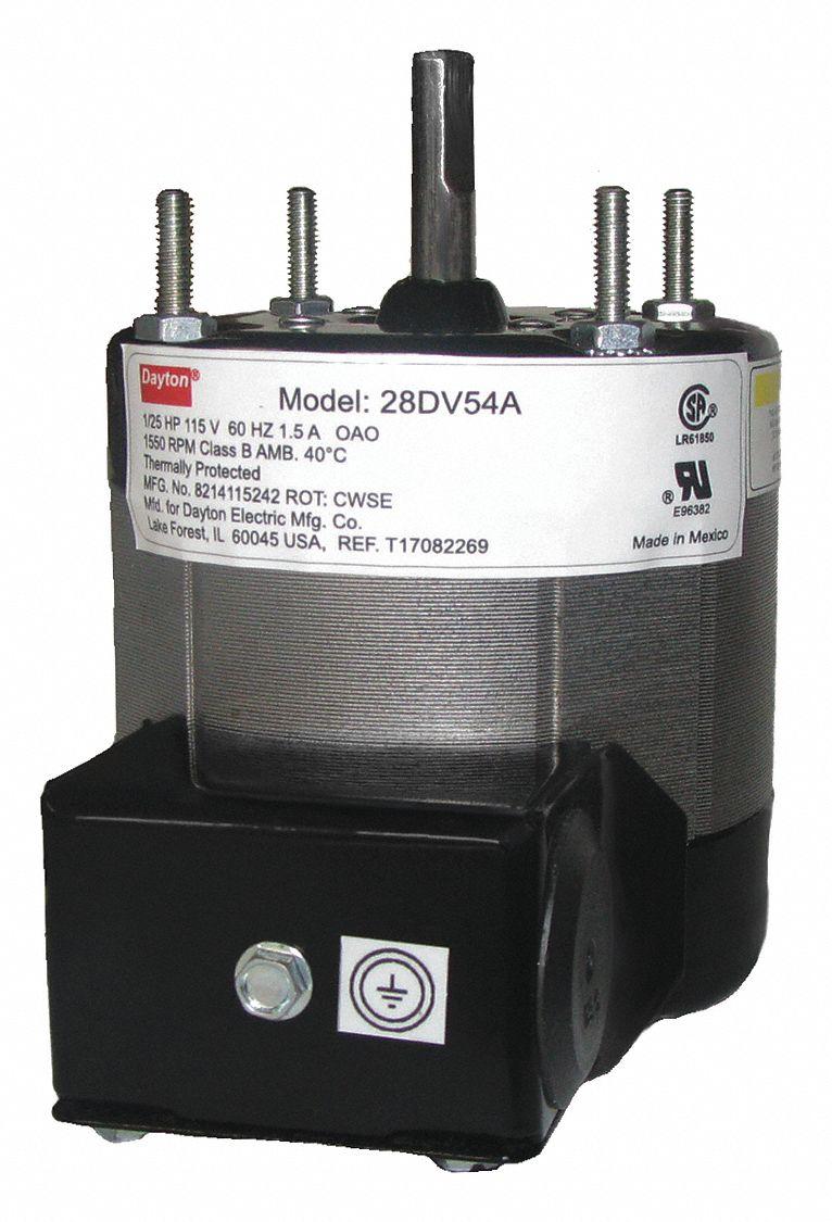 dayton motor  1  25hp  1550  3 3 u0026quot   teao