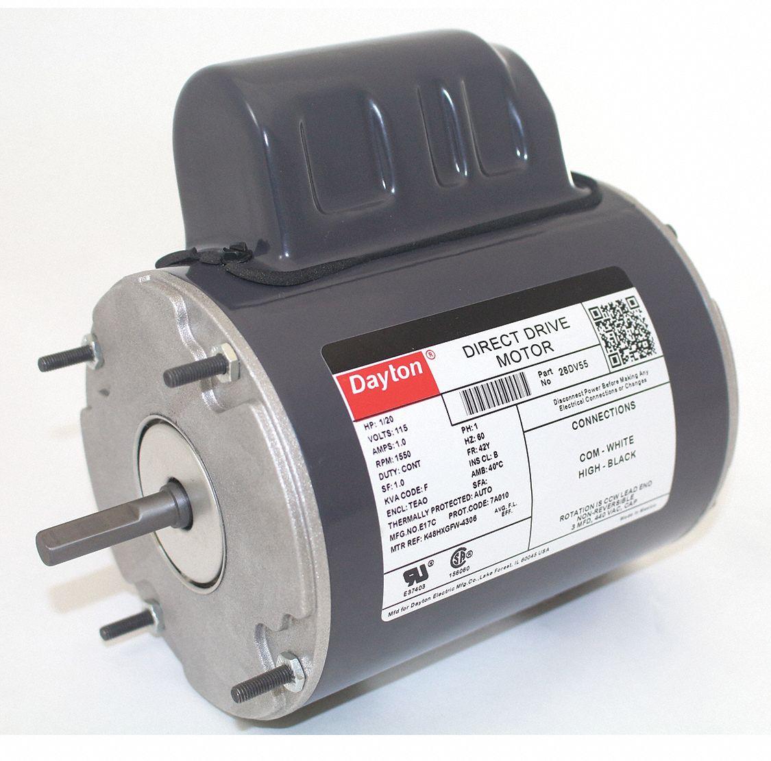 Dayton motor 28dv55 28dv55 grainger for Dayton gear motor catalog
