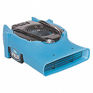 Carpet/Floor Dryer,115V,885 cfm,Blue