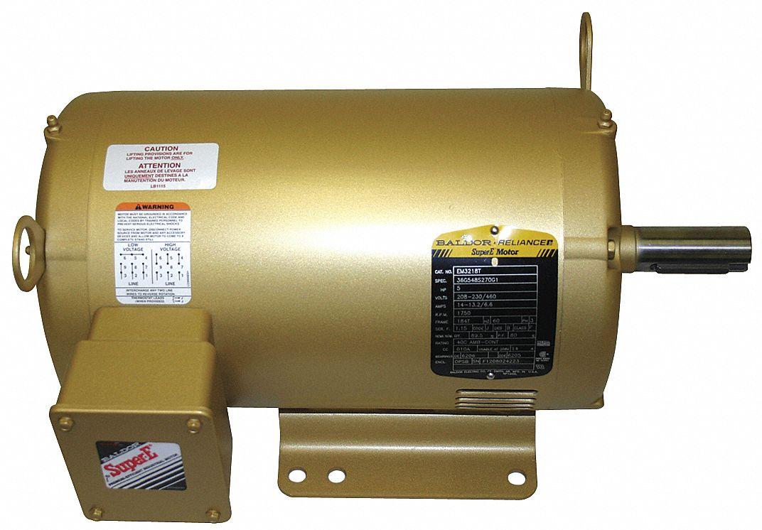 Baldor Electric Motor Lubrication