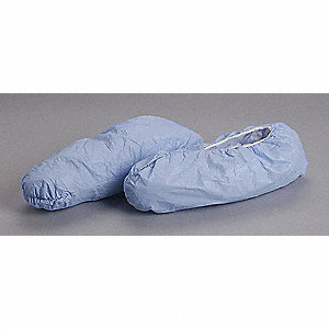 "2XL Shoe Covers, Slip Resistant Sole: Yes, Waterproof: No, 6-3/4"" Height"