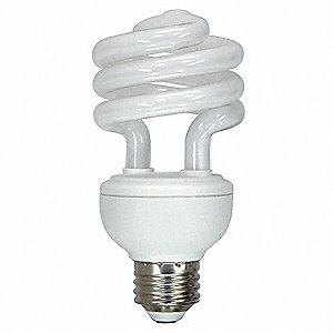Lamp,Non-Dimmable CFL,Spiral,20,T3