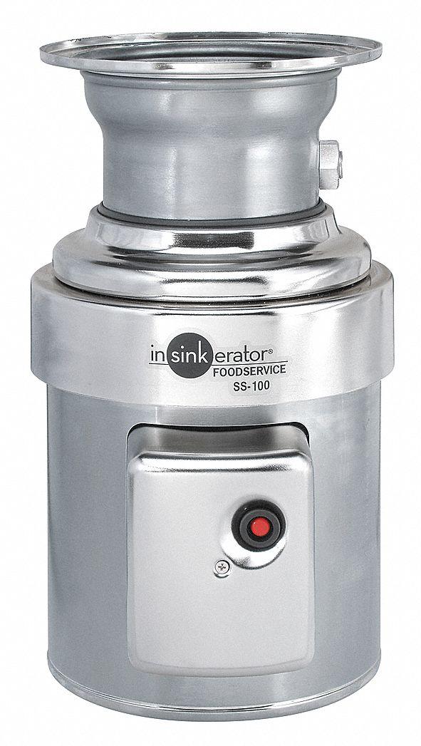 In Sink Erator 1 Hp Garbage Disposal 115 208 230 Voltage