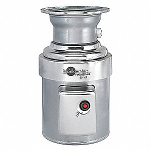1 HP Garbage Disposal, 208-230/460 Voltage