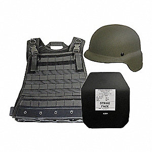 Active Shooter Kit, Level III, SM, OD Gr