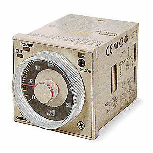 Time Delay Relay,120 to 240VAC,5A,DPDT