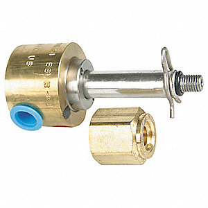 Brass Solenoid Valve Less Coil, 3-Way Valve Design, Universal Valve Configuration