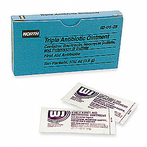 Triple Antibiotic Ointment, 0.9g Foil Pack