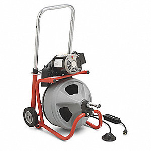 Drain Cleaning Machine,3/8Inx75ft Cable