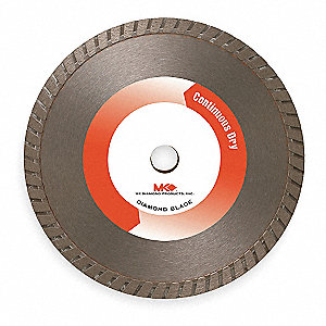 "6"" Dry Diamond Saw Blade, Turbo Rim Type"