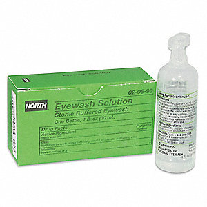 Buffered Eyewash, 1 oz. Bottle