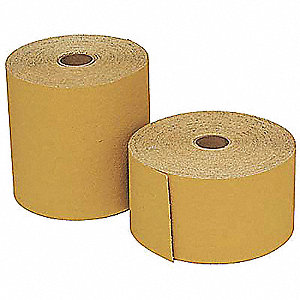 "4-1/2"" PSA Sanding Disc Roll, Aluminum Oxide, 120 Grit, Fine, No Hole, Coated, 236U"
