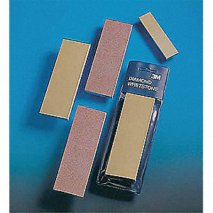 "Single Grit Sharpening Stone, 6"" x 2"", M125 Grit, Diamond"