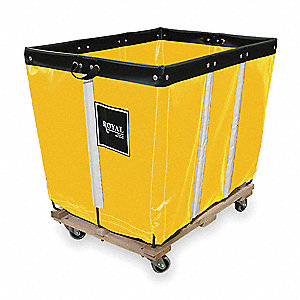 "Basket Truck, 6 Bushel Capacity, 20"" Overall Width, 30"" Overall Length"