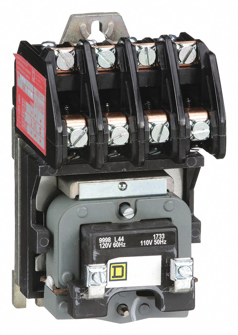 Square D Lighting Magnetic Contactor  120vac Coil Volts  Contactor Type  Electrically Held