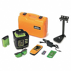 Pendulum Self Leveling Rotary Laser Level, Horizontal and Vertical, Interior