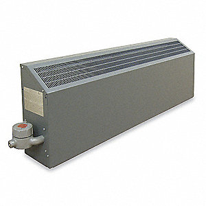 Hazardous Location Wall Heater, Convection, Voltage 240, Amps AC 31.7, 1 Phase, BtuH 25,938