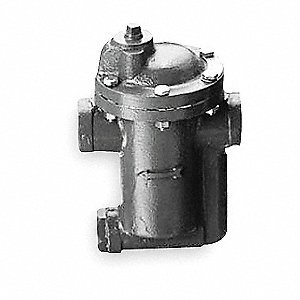 Steam Trap, 80 psi, 690 Lbs/Hr, Max. Temp. 450°F