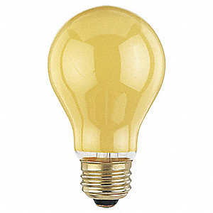 Incandescent Light Bulb,A19,60W,PK12