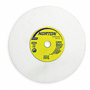 "6"" Straight Grinding Wheel, 1/2"" Thickness, 1/2"" Arbor Size, EA1"