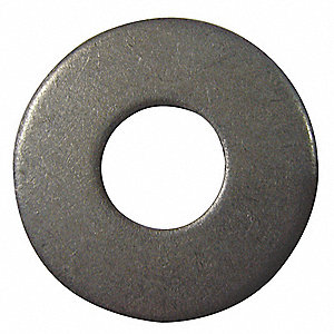 USS Washer,Bolt 1/2,Stl,1-3/8 OD,PK100