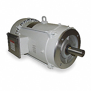15 HP Washdown Motor,3-Phase,3520 Nameplate RPM,208-230/460 Voltage,Frame 215TC