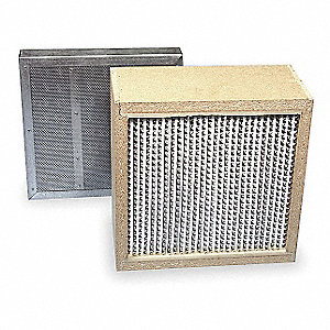 12x12x8 MERV 17 HEPA Carbon Filter For Use With Mfr. No. S-987-2A