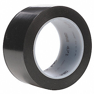 "Floor Marking Tape, Solid, Roll, 4"" x 108 ft., 8 PK"