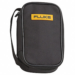 Soft Carrying Case,8-1/2 In. D,Black/Ylw