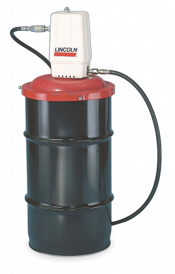 Lincoln grease pump fits container size 120 lb 16 gal for Lincoln motor company headquarters