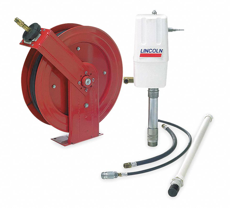 Lincoln oil pump transfer system air operated 250 275 for Lincoln motor company headquarters