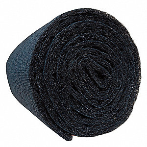 "Carbon Filter Media Roll, MERV 4, 1200"" Length, 31"" Width"