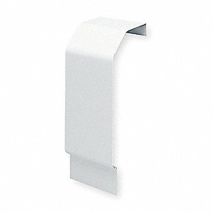 Wall End Piece,3 In. W,2-11/16 In. D