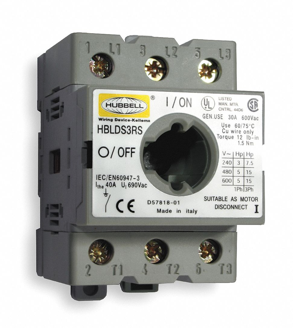 Wiring A Disconnect Switch