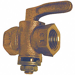 Gas Cock, Lever Handle