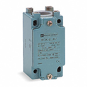 1NO/1NC Screw Terminal Limit Switch Body, AC Contact Rating: 10A @ 240VAC