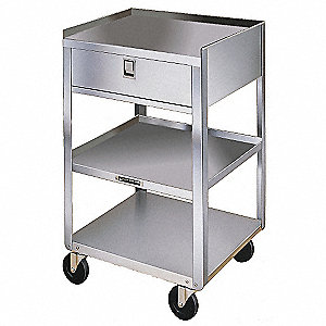 Equipment Stand, 300 Lb,Stainless Steel