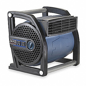 Portable Blower Fan,120V,425 cfm,Blue