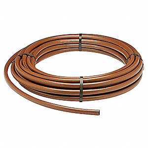Emitter Tubing,1/2 In,100 Ft,Brown