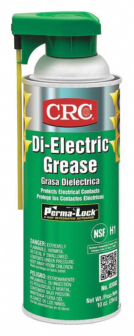 Crc Clear Silicone Di Electric Grease 16 Oz Nlgi Grade