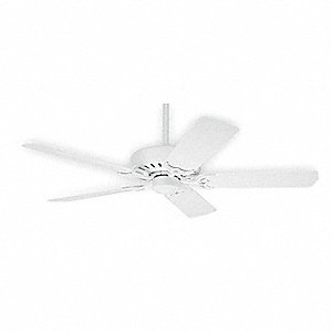 "52"" Outdoor Decorative Ceiling Fan, 120 Voltage, 3 Number of Speeds"