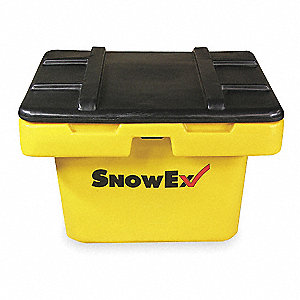 "Attached Lid Container, 5.5 cu. ft. Volume Capacity, 24"" Outside Length, 24"" Outside Width"