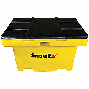 "Attached Lid Container, 11 cu. ft. Volume Capacity, 30"" Outside Length, 30"" Outside Width"