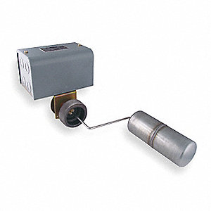 "Tank Liquid 2-Level Switch, Close On Rise, Stainless Steel, 2-1/2"" MNPT"