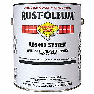 AS5400 Anti-Slip Epoxy,Silver Gray,1 gal